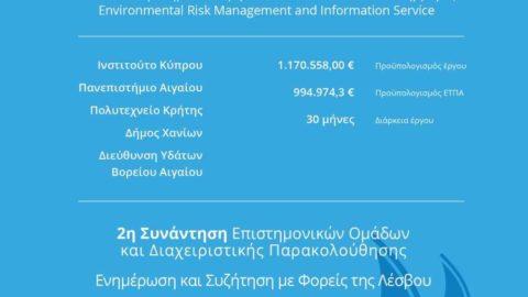 Ανοικτή συζήτηση στη Μυτιλήνη για τις ανάγκες ΟΤΑ και φορέων σχετικά με τη διαχείριση της πλημμύρας