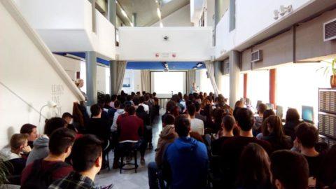 Παρουσίαση του ERMIS-F κατά την ομιλία  «Climate change – Flash Floods»