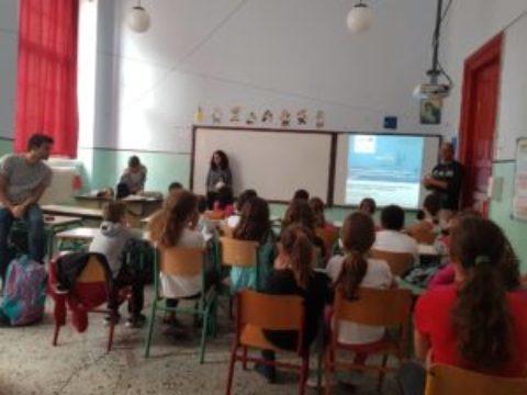 Ο ERMIS-F επισκέφτηκε το Δημοτικό Σχολείο Αγίας Παρασκευής Λέσβου