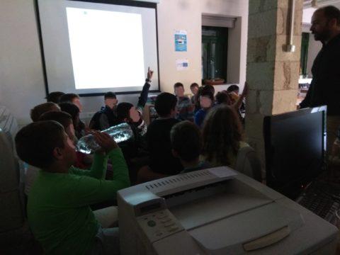 Το Δημοτικο Σχολείο Βουκολίων επισκέφτηκε το ERMIS-F Info Point του Δ. Χανίων