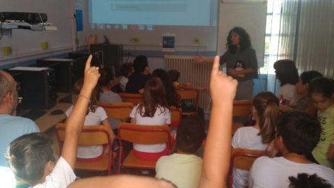 Μαθητές της Λ. Θέρμης ενημερώνονται για τις πλημμύρες απο τη ΔΥΒΑ