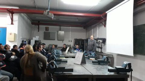 Δράση στο 1ο Εσπερινό Επαγγελματικό Λύκειο Μυτιλήνης από την ομάδα της ΔΥΒΑ