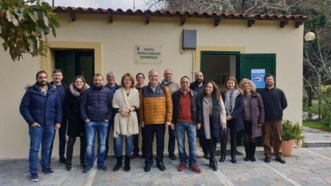 Τα Χανιά,  τόπος διεργασίας για τις πλημμύρες με εργαστήριο αξιοποίησης της Υπηρεσίας ERMIS-F και στρατηγικές συναντήσεις