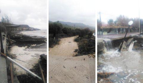 Συζήτηση στη Μυτιλήνη για τη διαχείριση του πλημμυρικού κινδύνου