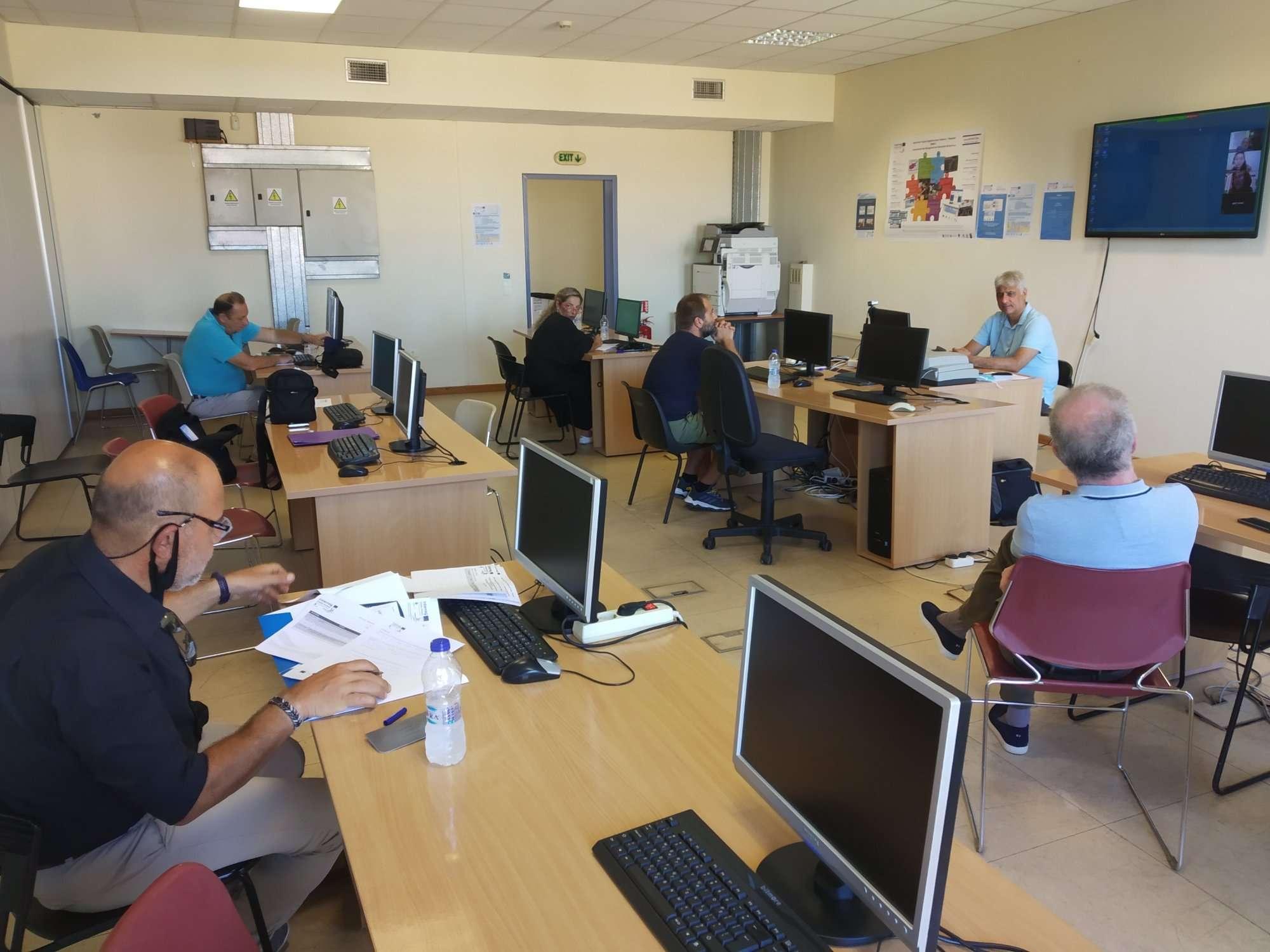 Συνάντηση Κέντρων Λήψεων Αποφάσεων στη Λέσβο (8/2020)